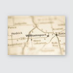 Williamsport Indiana Usa Poster, Pillow Case, Tumbler, Sticker, Ornament