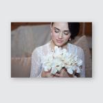 Brides Morning Fine Art Wedding Beautiful Poster, Pillow Case, Tumbler, Sticker, Ornament
