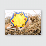 Easter Eggs Paschal Decorated That Usually Poster, Pillow Case, Tumbler, Sticker, Ornament