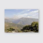 Panoramas Lebanon Ancient Modern Buildings Mountain Poster, Pillow Case, Tumbler, Sticker, Ornament