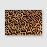 Jaguar Fur Pattern Seamless Real Hairy Poster, Pillow Case, Tumbler, Sticker, Ornament