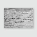 Paris Kentucky Usa Poster, Pillow Case, Tumbler, Sticker, Ornament