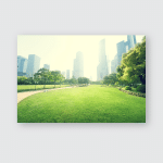 Park Lujiazui Financial Centre Shanghai China Poster, Pillow Case, Tumbler, Sticker, Ornament