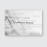 Jensen Beach Usa Poster, Pillow Case, Tumbler, Sticker, Ornament