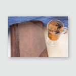 Winter Warm Tea Spice Antique Notebook Poster, Pillow Case, Tumbler, Sticker, Ornament