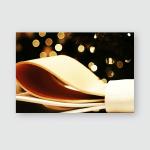 Part Bow Gift Box Bokeh Christmas Poster, Pillow Case, Tumbler, Sticker, Ornament