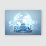 Electronics Technology Network Modern Gadget Concept Poster, Pillow Case, Tumbler, Sticker, Ornament