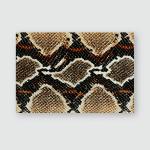 Snake Skin Pattern Poster, Pillow Case, Tumbler, Sticker, Ornament
