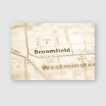 Broomfield Colorado Usa Poster, Pillow Case, Tumbler, Sticker, Ornament