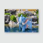 Elephant About Himmapan Creatures Thai Art Poster, Pillow Case, Tumbler, Sticker, Ornament