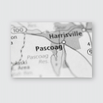 Pascoag Rhode Island Usa Poster, Pillow Case, Tumbler, Sticker, Ornament