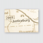 Justiceburg Texas Usa Poster, Pillow Case, Tumbler, Sticker, Ornament