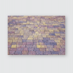 Paving Stone On Road Interesting Different Poster, Pillow Case, Tumbler, Sticker, Ornament