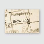 Browning Missouri Usa Poster, Pillow Case, Tumbler, Sticker, Ornament