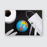 Soap Bubble Eggshell Poster, Pillow Case, Tumbler, Sticker, Ornament