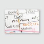 Pear Valley Texas Usa Poster, Pillow Case, Tumbler, Sticker, Ornament