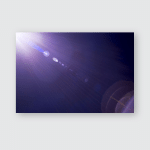 Solar Camera Lens Flare Light Create Poster, Pillow Case, Tumbler, Sticker, Ornament