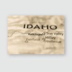 Ketchum Idaho Usa Poster, Pillow Case, Tumbler, Sticker, Ornament