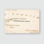 Keweenaw Point Michigan Usa Poster, Pillow Case, Tumbler, Sticker, Ornament