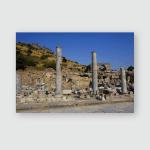 Some Details Antique City Ephesus Efes Poster, Pillow Case, Tumbler, Sticker, Ornament