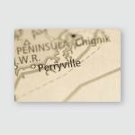 Perryville Alaska Usa Poster, Pillow Case, Tumbler, Sticker, Ornament