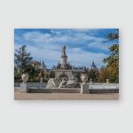 Source Hercules Anteo Gardens Site Aranjuez Poster, Pillow Case, Tumbler, Sticker, Ornament