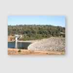 South Dandalup Dam Surrounding Bushland Poster, Pillow Case, Tumbler, Sticker, Ornament