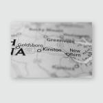 Kinston North Carolina Usa Poster, Pillow Case, Tumbler, Sticker, Ornament