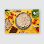 Pesah Celebration Concept Jewish Passover Holiday Poster, Pillow Case, Tumbler, Sticker, Ornament