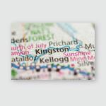 Kingston Idaho Usa Poster, Pillow Case, Tumbler, Sticker, Ornament