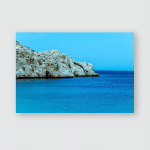 Wonderful Day Beach Waves Rocks Morocco Poster, Pillow Case, Tumbler, Sticker, Ornament