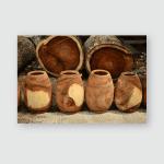 Wood Model Thai Drums Poster, Pillow Case, Tumbler, Sticker, Ornament