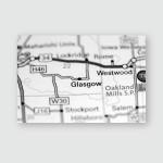 Pfeifer Kansas Usa On Map Poster, Pillow Case, Tumbler, Sticker, Ornament