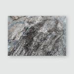 Sparkling Gray Black Stone Poster, Pillow Case, Tumbler, Sticker, Ornament