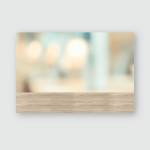 Wood Wall Blur Background Wooden Table Poster, Pillow Case, Tumbler, Sticker, Ornament