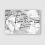 Spotswood New Jersey Usa Poster, Pillow Case, Tumbler, Sticker, Ornament