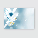 Spring Natural Floral Background Flowering Elegant Poster, Pillow Case, Tumbler, Sticker, Ornament