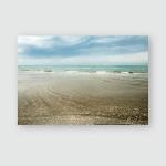 Spring Seascape Venice Lido Beach Poster, Pillow Case, Tumbler, Sticker, Ornament