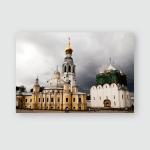 St Sophia Cathedral Belfry Vologda Kremlin Poster, Pillow Case, Tumbler, Sticker, Ornament