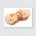Stack Cookies Hearts Poster, Pillow Case, Tumbler, Sticker, Ornament