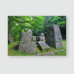 World Heritage Blast Furnace Ruins Poster, Pillow Case, Tumbler, Sticker, Ornament