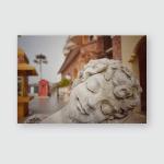 Statue Dream Public Area Vintage Poster, Pillow Case, Tumbler, Sticker, Ornament