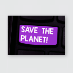 Writing Note Showing Save Planet Business Poster, Pillow Case, Tumbler, Sticker, Ornament