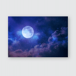Stars View Moon Poster, Pillow Case, Tumbler, Sticker, Ornament