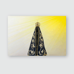Statue Image Our Lady Aparecida Mother Poster, Pillow Case, Tumbler, Sticker, Ornament