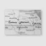 Wymore Nebraska Poster, Pillow Case, Tumbler, Sticker, Ornament