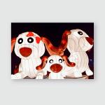 Year Dog Lanterns Light Pak Nam Poster, Pillow Case, Tumbler, Sticker, Ornament