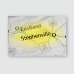 Stephenville Texas Usa Poster, Pillow Case, Tumbler, Sticker, Ornament