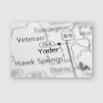 Yoder Wyoming Usa Poster, Pillow Case, Tumbler, Sticker, Ornament