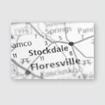 Stockdale Texas Usa Poster, Pillow Case, Tumbler, Sticker, Ornament